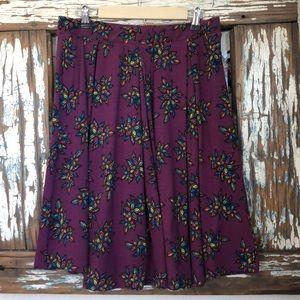 LuLaRoe Purple Skirt